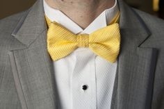 Gallery For > Yellow Bow Tie Suit