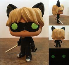 Miraculous Ladybug Cat Noir Custom Funko Pop! Figu by NumairSalmalin