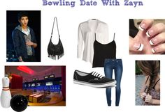 """""""Bowling Date With Zayn"""" by lovetosmile147 ❤ liked on Polyvore"""