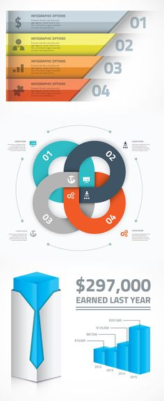25 Infographics Vector Elements and Infographics Vector Graphics - 23