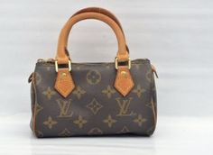 Authentic-Louis-Vuitton-Mini-Speedy-Monogram-Hand-Bag-Purse