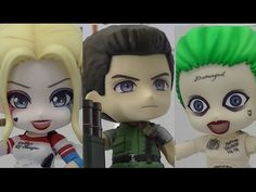Nendoroid - Chris Redfield, Joker & Harley Quinn (Suicide Squad) & more ...