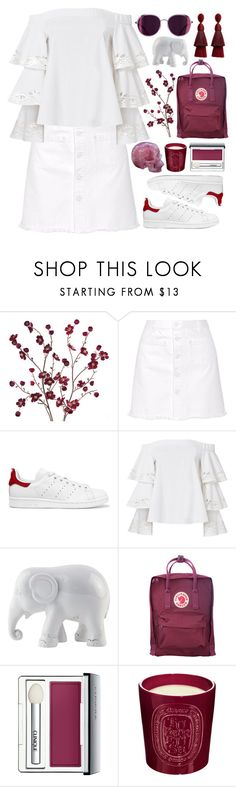 """Wine not"" by cassonade ❤ liked on Polyvore featuring Cost Plus World Market, Steve J & Yoni P, adidas Originals, Exclusive for Intermix, The Elephant Family, Fjällräven, Clinique, Diptyque and Oscar de la Renta"