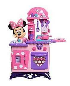 72586dafd74 The Minnie Mouse Bowtique Kitchen rules!! I want one! Minnie Mouse Toys