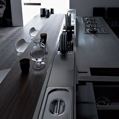 In An Effort To Maximize #ergonomics In The #kitchen, #Valcucine Offer The