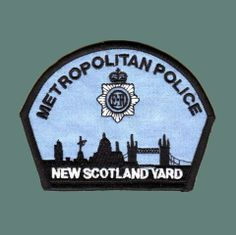Scotland Yard Police Patches, Police Officer, Badges, Scotland, Crime, Scene, Yard, Visual Identity, Patio