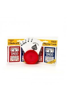 2 Decks of Top Quality Playing Cards - Las Vegas Party Decoration Ideas