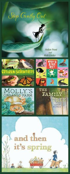 Books about nature for kids