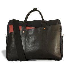Edward Leather Brief Bag