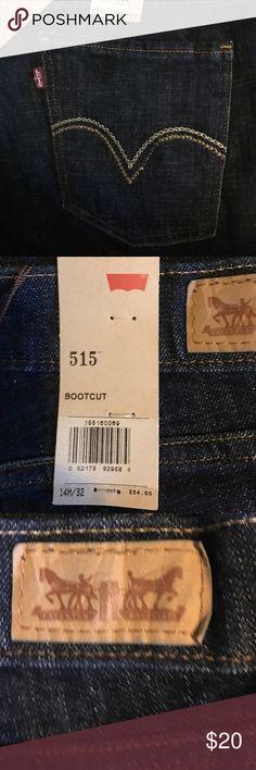 Levi's 515 Bootcut Levi's 515 Bootcut midrise.   14M/32 Levi's Jeans Boot Cut