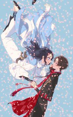 Touken Ranbu Characters, Anime Art Fantasy, Noragami, Anime Ships, Manga Girl, Anime Couples, Chibi, Kawaii, Fan Art