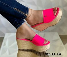 Espadrilles, Wedges, Sandals, Outfits, Shoes, Fashion, African Dress, Espadrilles Outfit, Moda
