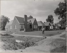 The history of HighCraft Builders' office -- the McAnelly House -- at 429 South Howes, Fort Collins.