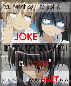 You\'ll never know~    Anime: Kaichou wa Maid sama