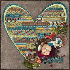 Tyson- Kit: Just Us {June} from Wendy Tunison Designs, Temptations Vol. 15 from Wendy Tunison Designs
