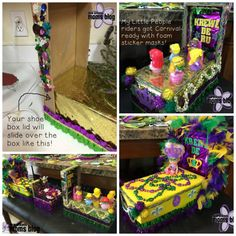 How To Make Shoe Box Floats {A Mardi Gras Tradition For NOLA Kids} | New Orleans Moms Blog