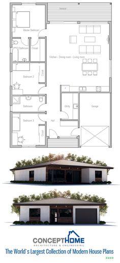 Schwedenhaus SkandiHaus 1-geschossig 98 Grundriss 99-4 Grundriss - plan maison 3d gratuit