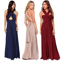 6aaf0ae03a Women Long A Dress Slim Ankle Length Long Dress Summer Dresses Formal Gowns  for Girl at Amazon Women s Clothing store