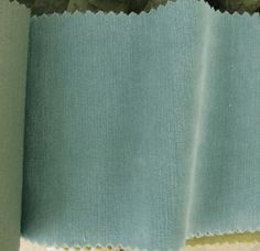 Mega Chenille Fabric, robin's egg blue