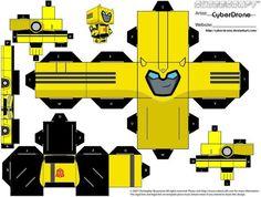 Bumblebee papertoy - Pesquisa Google