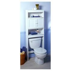 This Zenna Home® Country Cottage Over-the-Toilet Spacesaver transforms the usually wasted area above a toilet into valuable bathroom storage. The spacesaver has two open storage spaces and two hidden shelves. The open areas can hold decorative bath accessories. Step-by-step illustrated instructions are included for easy assembly. Zenna Home by Zenith's USA-based Customer Service Department is available toll free at (800) 892-3986 to answer any questions.