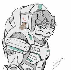 deviantART Mass Effect Geth | Grunt is a Softy by calicoJill.deviantart.com on @deviantART