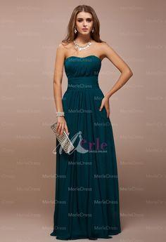 Simple Sheath/Column Sweetheart Sleeveless Ruffles Floor-Length Bridesmaid Dresses