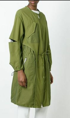 Phillip Lim military parka in 2020 Avangard Fashion, Fashion Mask, Couture Fashion, Runway Fashion, Fashion Outfits, Military Parka, Mode Mantel, Fashion Design Drawings, Parka Coat