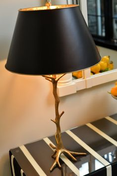 Gilded Gold Tree Table Lamp available at savage interior design on Taigan.com
