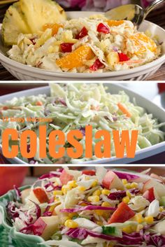12 Easy Coleslaw Recipes: When it comes to outdoor get-together and summer parties, there is nothing better than a good coleslaw recipe. These easy summer recipes will help you make any spread, spectacular!