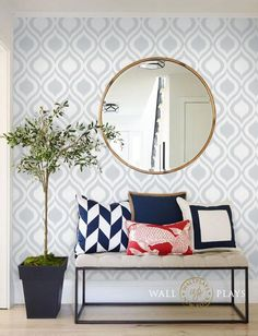 4 Relaxing Clever Hacks: Minimalist Interior Style Light Fixtures minimalist home decoration wall art.Minimalist Interior Ideas Coffee Tables minimalist home decoration wall art. Modern Entryway, Entryway Decor, Entryway Mirror, Rustic Entryway, Entry Foyer, Home Interior, Decor Interior Design, Modern Interior, Home Modern
