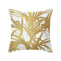 Frond of Gold Pillow//