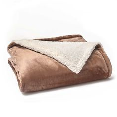 Vellux Sherpa Fleece Throw, Other Clrs