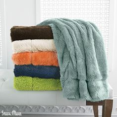"""Favorite Things """"Item of the Day:"""" Fur Throws - Day 2: Nice and fluffly!"""