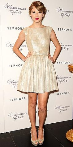 Taylor Swift in Contrarian New York at 'Wonderstruck' Fragrance Event