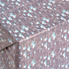 J!NX : Minecraft Diamond Wrapping Paper - Clothing Inspired by Video Games & Geek Culture