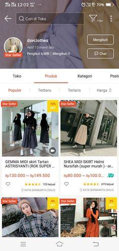Shopping Websites, Online Shopping Clothes, Ootd Store, Hijab Fashion, Fashion Outfits, Womens Fashion, Kebaya Muslim, Things To Buy, Stuff To Buy