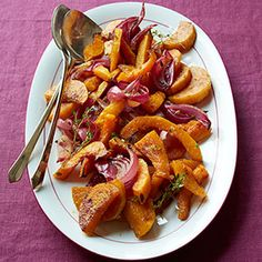 Spice Roasted Butternut Squash and Red Onions Recipe - Delish