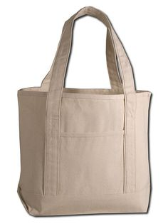 4f3e62f0dd 6 PACK - Heavy Duty Deluxe Canvas Boat Tote Bag Customizable Wholesale Tote  Bags Reusable Tote Bags Bulk