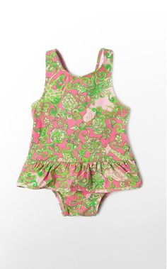 Lilly Pulitzer baby swimsuit! Perfect for Lilly!