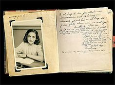 The first page of the diary. which Anne Frank receives for her thirteenth birtday on 12 June 1942.