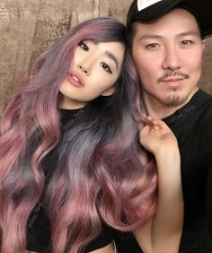 "35.5k Likes, 159 Comments - Guy Tang® (@guy_tang) on Instagram: ""Dusty Lavender and Rose Gold series from @guytang_mydentity on HairBestie @melodyjaemua #mydentity…"""