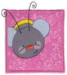 B Happy Moments Applique 4 - 2 Sizes! | What's New | Machine Embroidery Designs | SWAKembroidery.com Bunnycup Embroidery