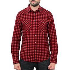 Sixth June - Carreaux Shirt Rouge/Noir