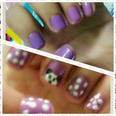 purple ♥ #purple #nails