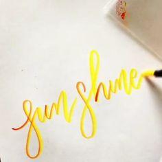 Brush Pen Art, Brush Lettering, Pens, Create, Artwork, Instagram, Work Of Art, Auguste Rodin Artwork, Artworks