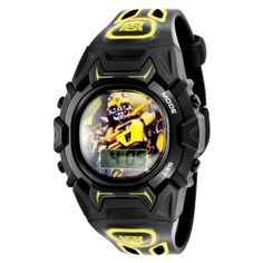 Transformers Prime LCD Watch Bumblebee by Everything Else -- Awesome products selected by Anna Churchill