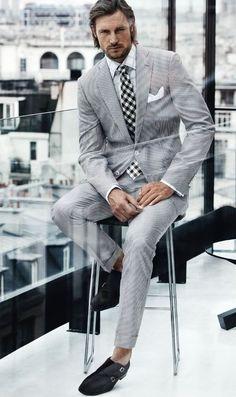 Boss #suit #menswear