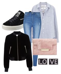 """Untitled #17"" by abbyharris26 on Polyvore featuring Puma, Frank & Eileen, T By Alexander Wang and Givenchy"