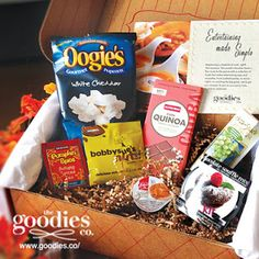 The Goodies Co - snack box sampler